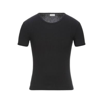 ドリス ヴァン ノッテン DRIES VAN NOTEN T シャツ ブラック M コットン 100% T シャツ