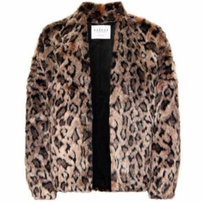 ベルベット グラハムandスペンサー Velvet レディース ジャケット アウター Anne faux fur jacket Leopard