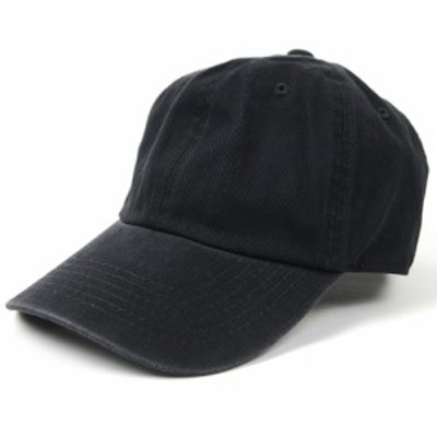 BIGWATCH正規品 大きいサイズ 帽子 メンズ ウォッシュ加工6パネルコットンキャップ 黒ブラック/キャップ/ビッグサイズ/ビッグワッチ/コッ