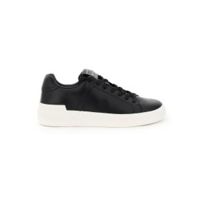 BALMAIN/バルマン Mixed colours Balmain b court leather sneakers メンズ 秋冬2021 VM1C244LSMM ik