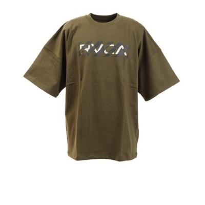 ルーカ(RVCA)Tシャツ メンズ HAZARD 半袖 BA041223 MOS オンライン価格