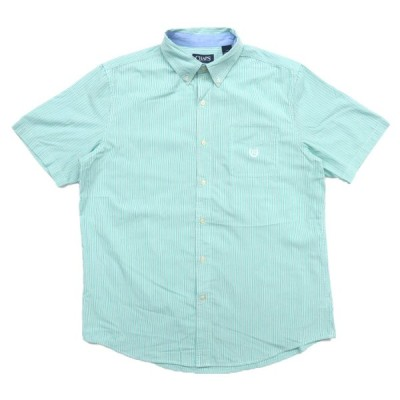 チャップス ワンポイントロゴ ボタンダウン 半袖 シャツ サイズ表記:L