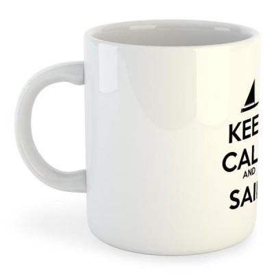 クルスキス メンズ 釣り用具 アクセサリー マーチャンダイジング kruskis mug-keep-calm-and-sail