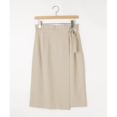 OFF PRICE STORE(Women)(オフプライスストア(ウィメン)) NATURAL BEAUTYアシンメトリーラップスカート