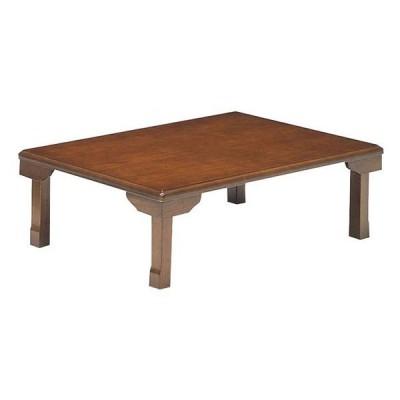 座卓 ローテーブル 和風 折りたたみテーブル  105巾長方形 K-105 天然杢 ブラウン色