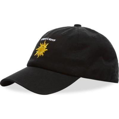 スポーティ アンド リッチ Sporty & Rich メンズ 帽子 サンハット Sun Club Hat Black/White