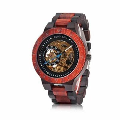 BOBO BIRD メンズ 木製腕時計 高級機械式腕時計 軽量木製バンド