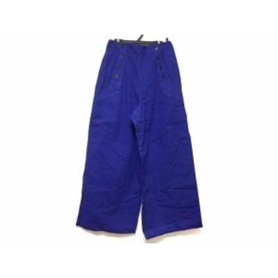 ヤッコマリカルド YACCOMARICARD パンツ サイズ2 M レディース - パープル フルレングス【中古】20200723