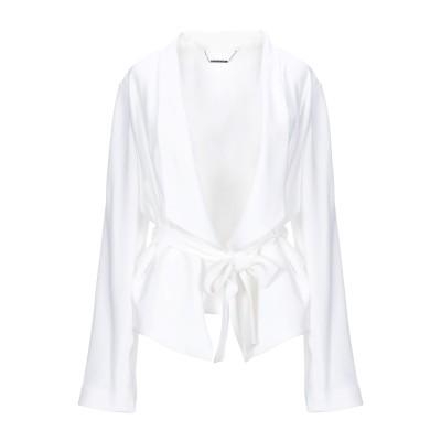 ELIE TAHARI テーラードジャケット ホワイト XS トリアセテート 70% / ポリエステル 30% テーラードジャケット