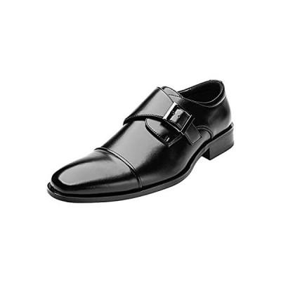 [todaysunny] ビジネスシューズ メンズ モンクストラッ 紳士靴 ストレートチップ 内羽根 フォーマル ドレスシューズ 防滑 防臭 冠婚葬祭
