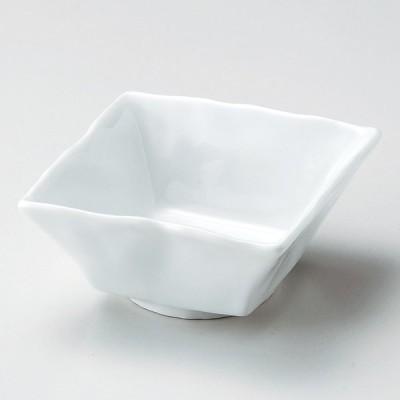 業務用食器 スーパー青白磁石目角小鉢 12.3×12.3×5.5�