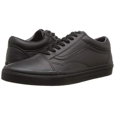 バンズ Old Skool メンズ スニーカー 靴 シューズ (Classic Tumble) Black Mono