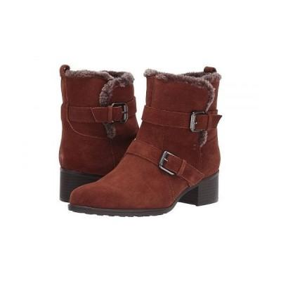 Naturalizer ナチュラライザー レディース 女性用 シューズ 靴 ブーツ アンクル ショートブーツ Deanne Waterproof - Cinnamon Leather