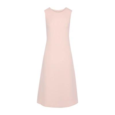 IRIS & INK 7分丈ワンピース・ドレス ライトピンク 6 ポリエステル 100% 7分丈ワンピース・ドレス