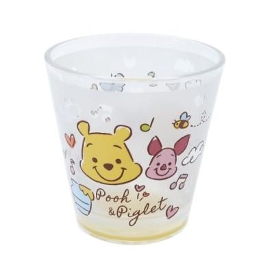 フロスト グラス くまのプーさん ガラスコップ ディズニー グッズ ファジーシリーズ キャラクター