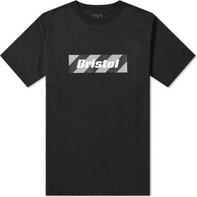 エフシーレアルブリストル F.C. Real Bristol メンズ Tシャツ ボックスロゴ ロゴTシャツ トップス Box Logo Tee Black
