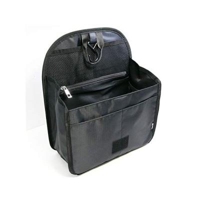 S&E バッグインバッグ リュックインバッグ a4 軽量 大容量 人気 縦型 収納 持ち運び フック付 自立 10ポケット ビジネス 通勤