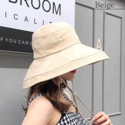 【即納】19ss-053【2019春夏新作】ハット 帽子折り畳み 紫外線対策 日よけ 色:ブラックサイズ:【F】