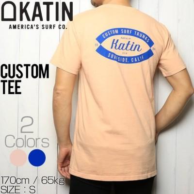 [クリックポスト対応] KATIN ケイティン CUSTOM TEE  半袖Tシャツ TSCUS03