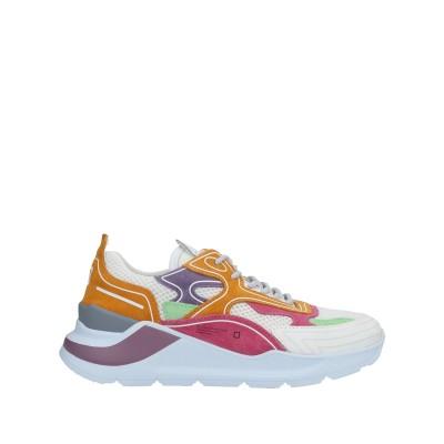 D.A.T.E. スニーカー&テニスシューズ(ローカット) ホワイト 37 革 / 紡績繊維 スニーカー&テニスシューズ(ローカット)