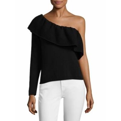 エラモス レディース トップス シャツ One-Shoulder Sweater