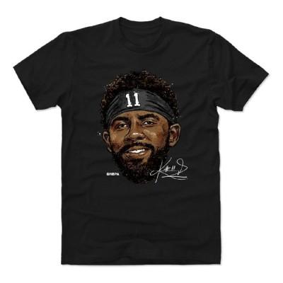 カイリー・アービング Tシャツ NBA ブルックリン・ネッツ Smile T-Shirts 半袖 500Level ブラック