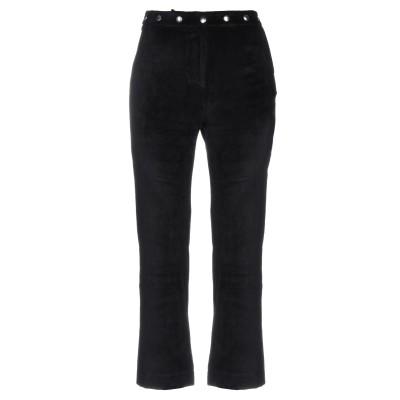 ALEXACHUNG パンツ ブラック 6 レーヨン 83% / ポリエステル 14% / ポリウレタン 3% パンツ