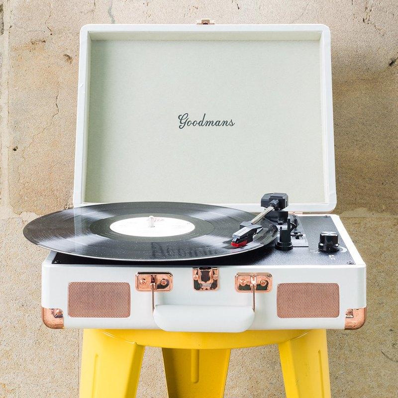 【品味生活】Goodmans Ealing Turntable 英國手提箱黑膠唱片機