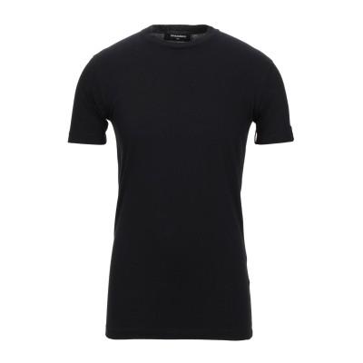 ディースクエアード DSQUARED2 T シャツ ブラック XS コットン 100% T シャツ