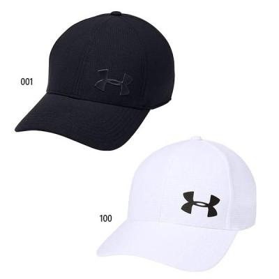 アンダーアーマー メンズ UA エアベント コア キャップ2.0 トレーニング 帽子 軽量 吸汗 1328630