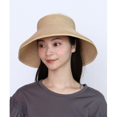 salle de bal / くるくるサンバイザー QKHS-24 QLI WOMEN 帽子 > サンバイザー
