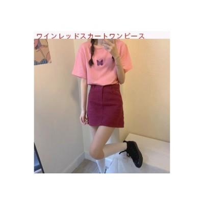 【送料無料】夏 ファッション セット 女 年 韓国風 ルース 半袖Tシャツ ハイウエ | 346770_A62827-5311836