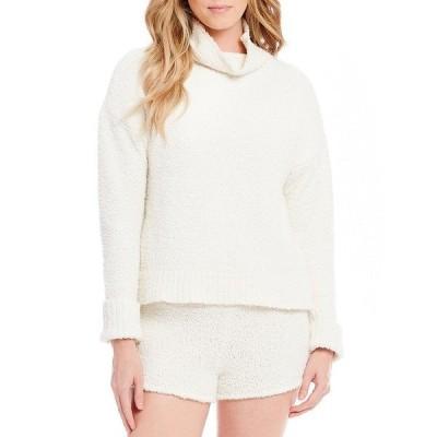 アグ レディース ニット&セーター アウター Sage Sweater-Knit Lounge Top Cream