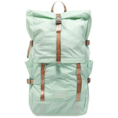 サンドクヴィスト Sandqvist メンズ バックパック・リュック バッグ Bernt Lightweight Roll-Top Backpack Mint