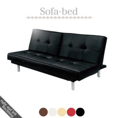 ソファベッド ソファーベッド リクライニングソファ リクライニング カウチソファ カウチソファー bed シングルベッド フロアソファ 3人