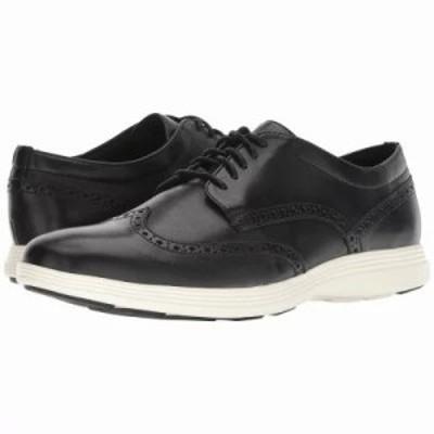 コールハーン 革靴・ビジネスシューズ Grand Tour Wing Ox Black Leather/Ivory