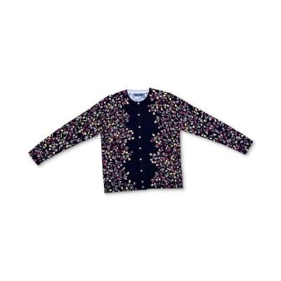 ケレンスコット ニット&セーター アウター レディース Petite Printed Cardigan Deep Black Floral
