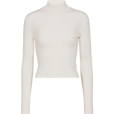 ガブリエラ ハースト Gabriela Hearst レディース ニット・セーター タートルネック トップス Russel ribbed-knit turtleneck sweater Ivory
