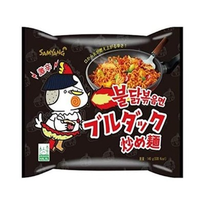 人気★【三養】ブルダック炒め麺 (5食パック) 日本版 140g×5食入り