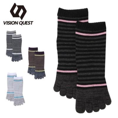 ビジョンクエスト VISION QUEST  ソックス レディース 5本指ソックス VQ430104K24