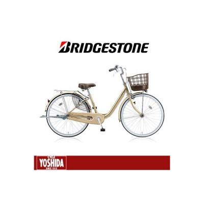 (店舗受取送料割引)ブリヂストン(BRIDGESTONE) アルミーユ 点灯虫 3段 26型 AU63T ファミリーサイクル