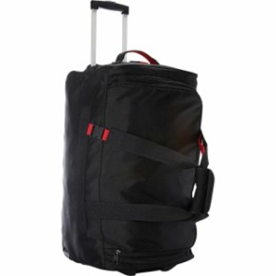 A. Saks  旅行用品 キャリーバッグ A. Saks 25&#034 Expandable Trolley Duffel - Black/Red Softside Checked NEW