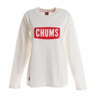 チャムス(CHUMS)tシャツ ボートロゴ長袖tシャツ CH11-1284-W001 (Lady's)