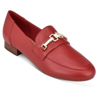マーク フィッシャー Marc Fisher レディース ローファー・オックスフォード シューズ・靴 Ebera Tailored Loafers Red