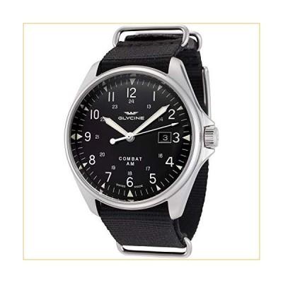Glycine Combat Vintage Mens Analog Automatic Watch with Nylon Bracelet GL0123 並行輸入品