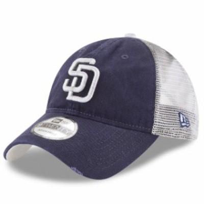 New Era ニュー エラ スポーツ用品  New Era San Diego Padres Navy Team Rustic 9TWENTY Adjustable Hat