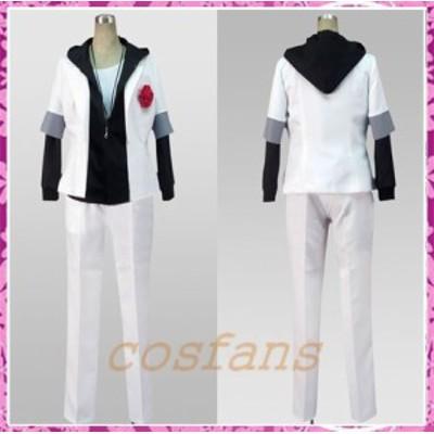 コスプレ衣装 うた☆プリンス様っ♪ ファンブック表紙 来栖翔 白いスーツ