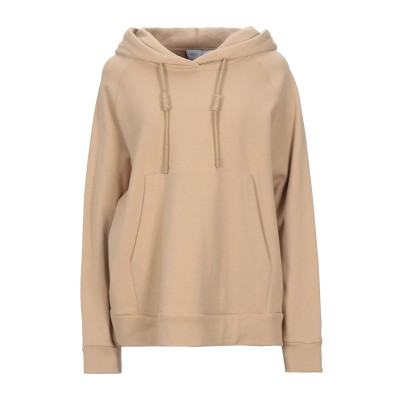 WEILI ZHENG スウェットシャツ サンド XS コットン 100% スウェットシャツ