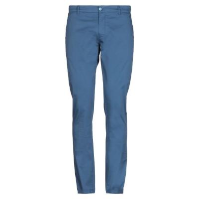 PANAMA パンツ ブルー 50 コットン 96% / ポリウレタン 4% パンツ