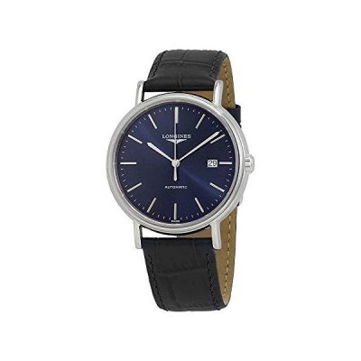 Longines Presence SS with Blue Dial, Blue Leather L4.922.4.92.2 並行輸入品